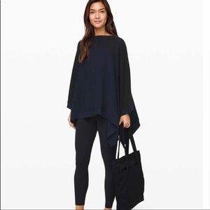 Lululemon It All Lines Up Poncho